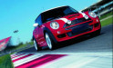 Mini Cooper at Speed on Track
